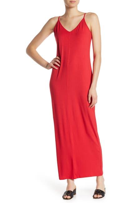 Image of Abound Knit V-Neck Maxi Dress