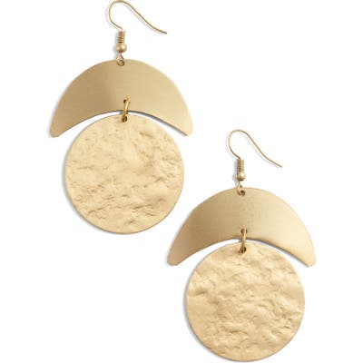 Ten79La Moon Drop Earrings