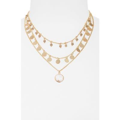 Shashi Katrina Multistrand Necklace