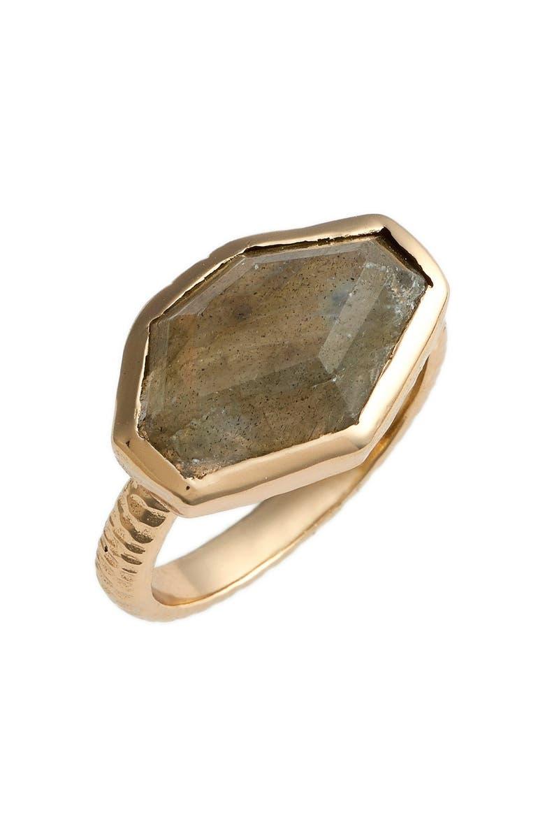 MELINDA MARIA 'Slice' Stone Ring, Main, color, 020