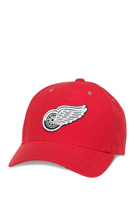 Image of American Needle NHL Detroit Red Wings Brushed Baseball Cap
