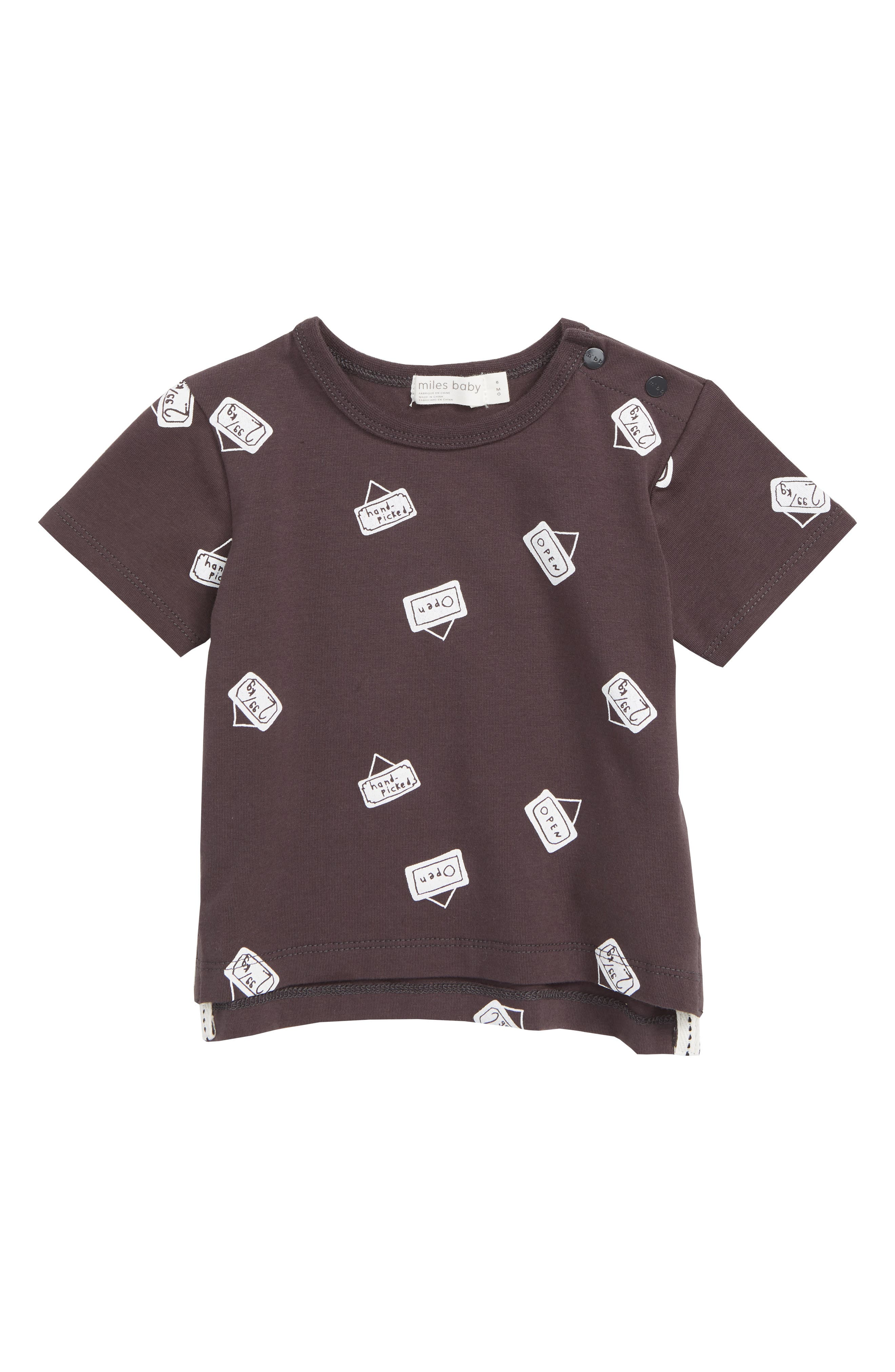 Miles Baby Signs Graphic T-Shirt