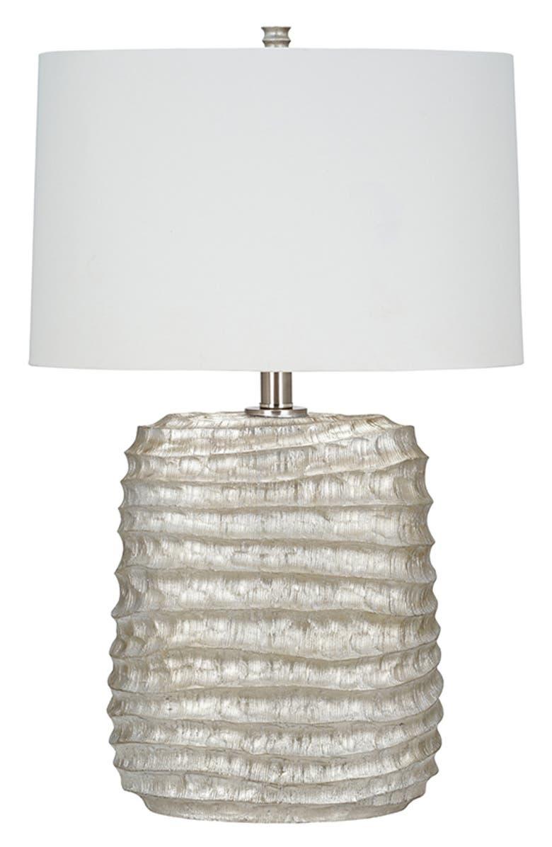 JALEXANDER LIGHTING Freya Table Lamp, Main, color, SILVER