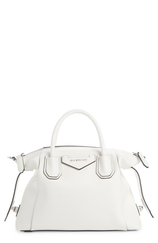 Givenchy Leathers SMALL ANTIGONA SOFT LEATHER SATCHEL