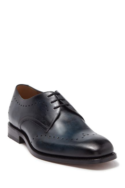 Image of MORAL CODE Brice Leather Wingtip Derby