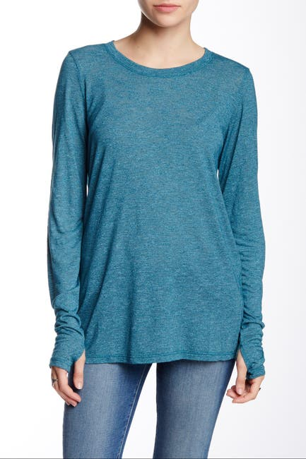 Image of Michael Stars Long Sleeve Thumbhole T-Shirt