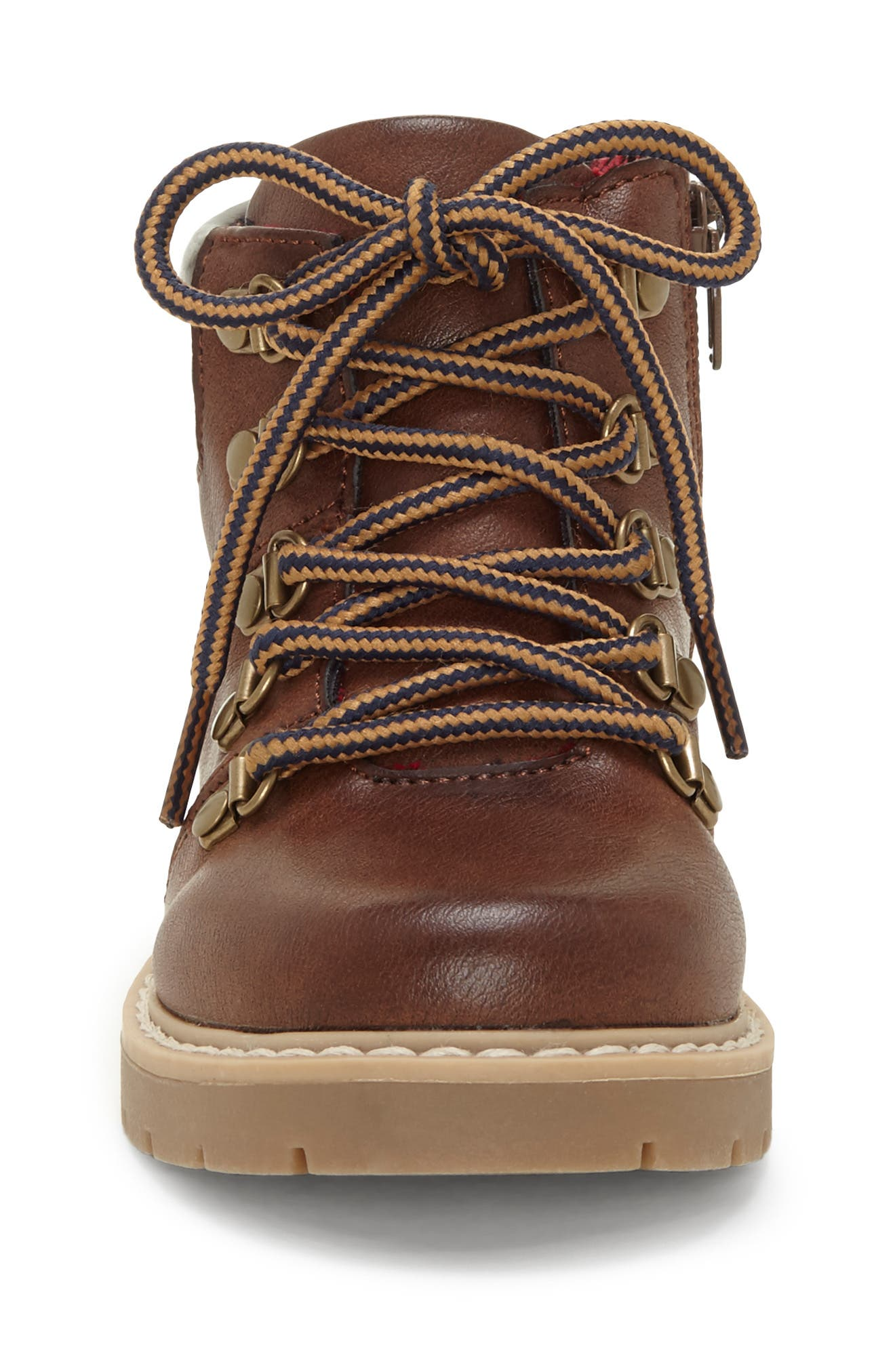 ,                             Aakil Lace-Up Boot,                             Alternate thumbnail 4, color,                             MISTER MAPLE