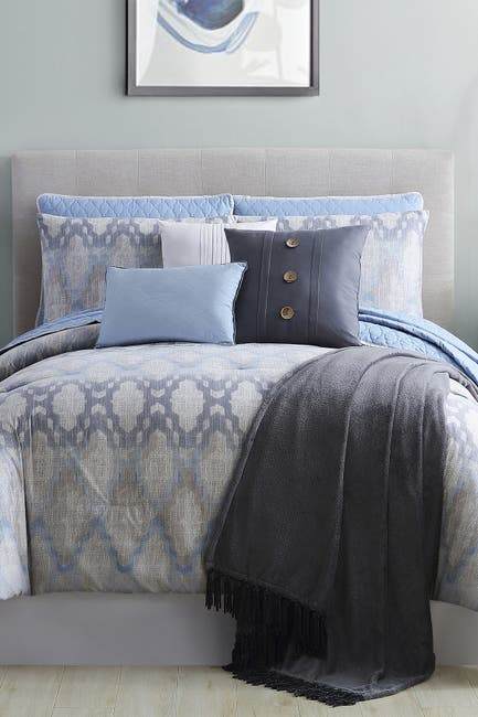 Image of Modern Threads Queen Langdon Comforter/Coverlet Set - Multi