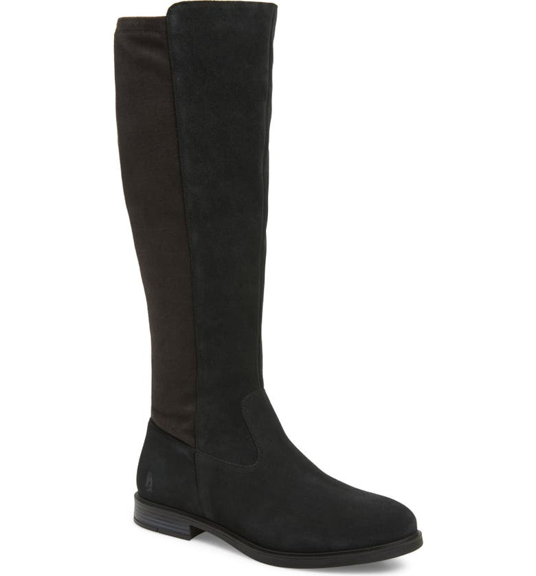HUSH PUPPIES<SUP>®</SUP> Bailey Water Resistant Knee High Boot, Main, color, 001