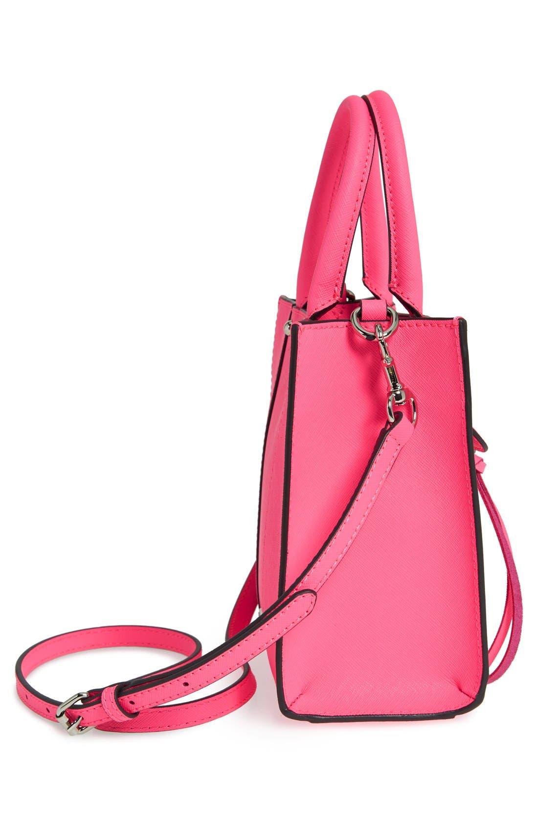 ,                             'Mini MAB Tote' Crossbody Bag,                             Alternate thumbnail 111, color,                             654