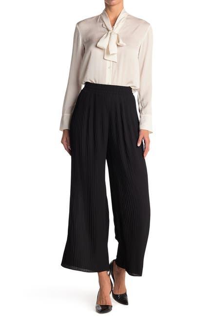Image of Pleione Pleated Pull-On Pants