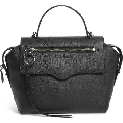 Rebecca Minkoff Gabby Leather Satchel - Black