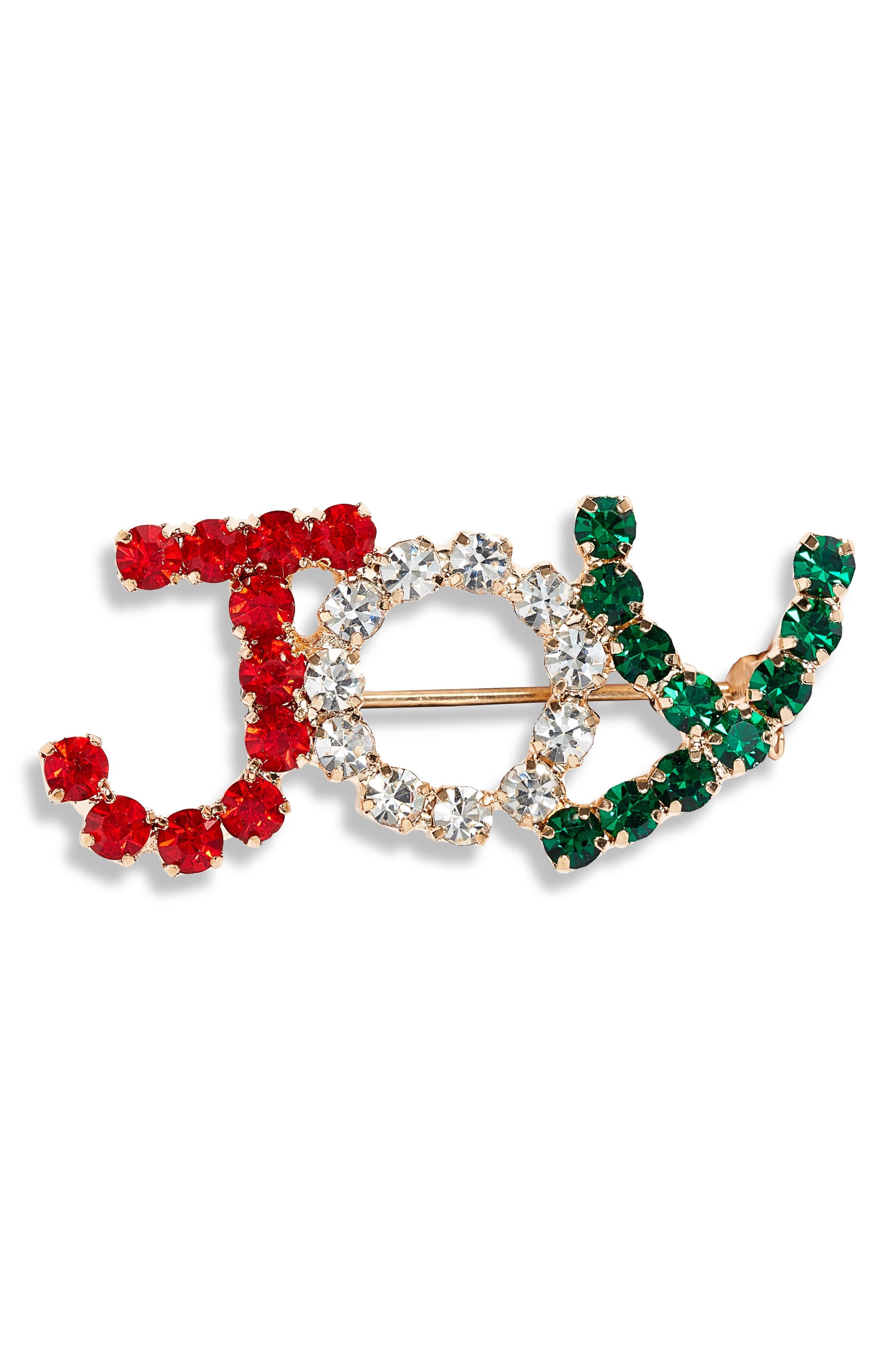 Crystal Joy Pin