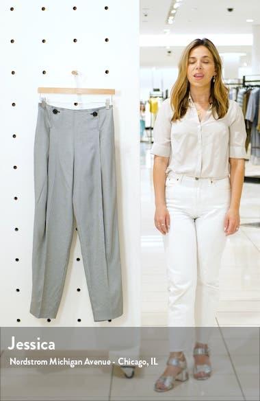 Mini Check Soft Suit Pants, sales video thumbnail