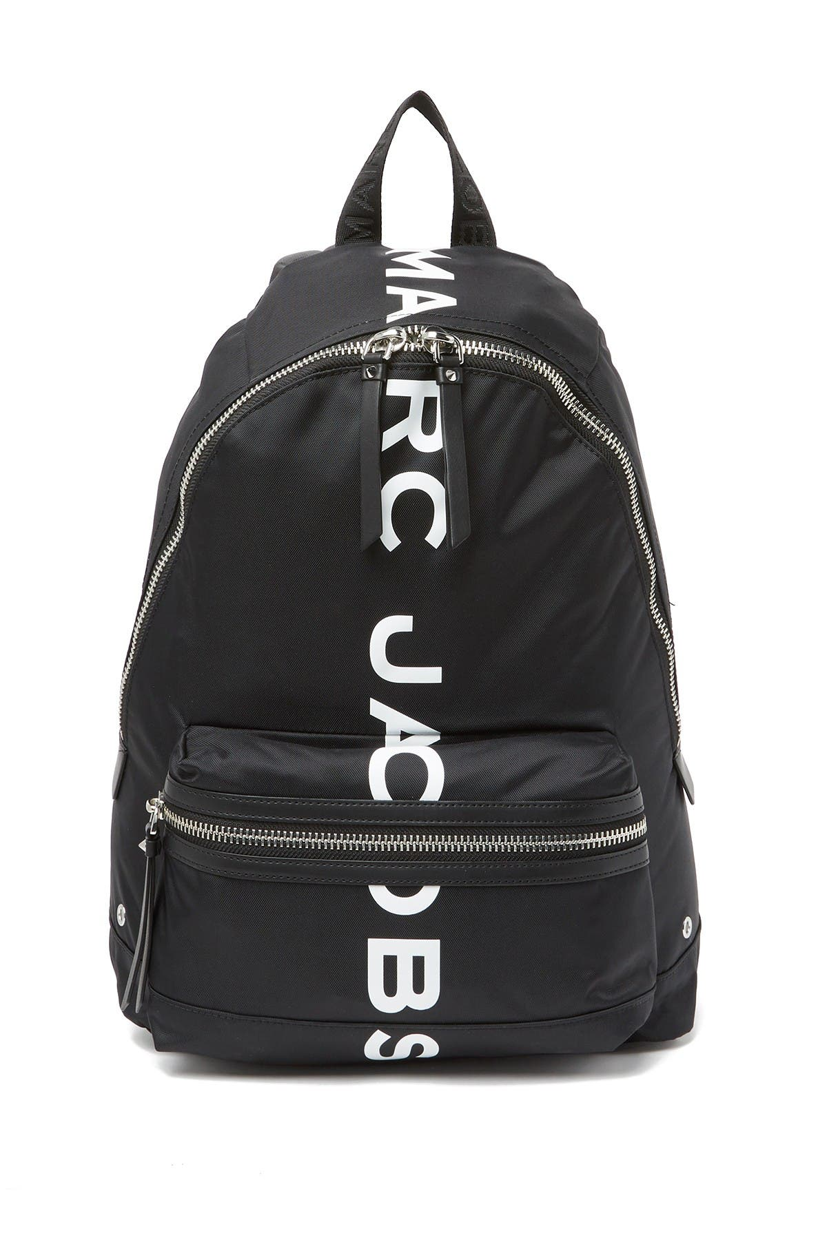 Image of Marc Jacobs Suspiria Logo Print Backpack