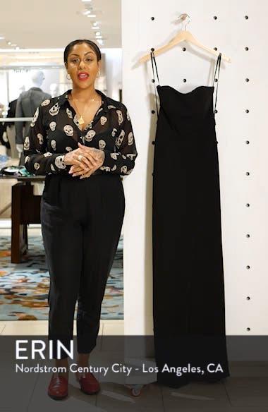 Strapless Jersey Evening Dress, sales video thumbnail
