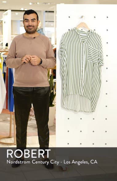 Porte Stripe Shirtdress, sales video thumbnail