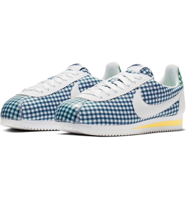 separation shoes cce78 20b90 Classic Cortez QS Gingham Sneaker