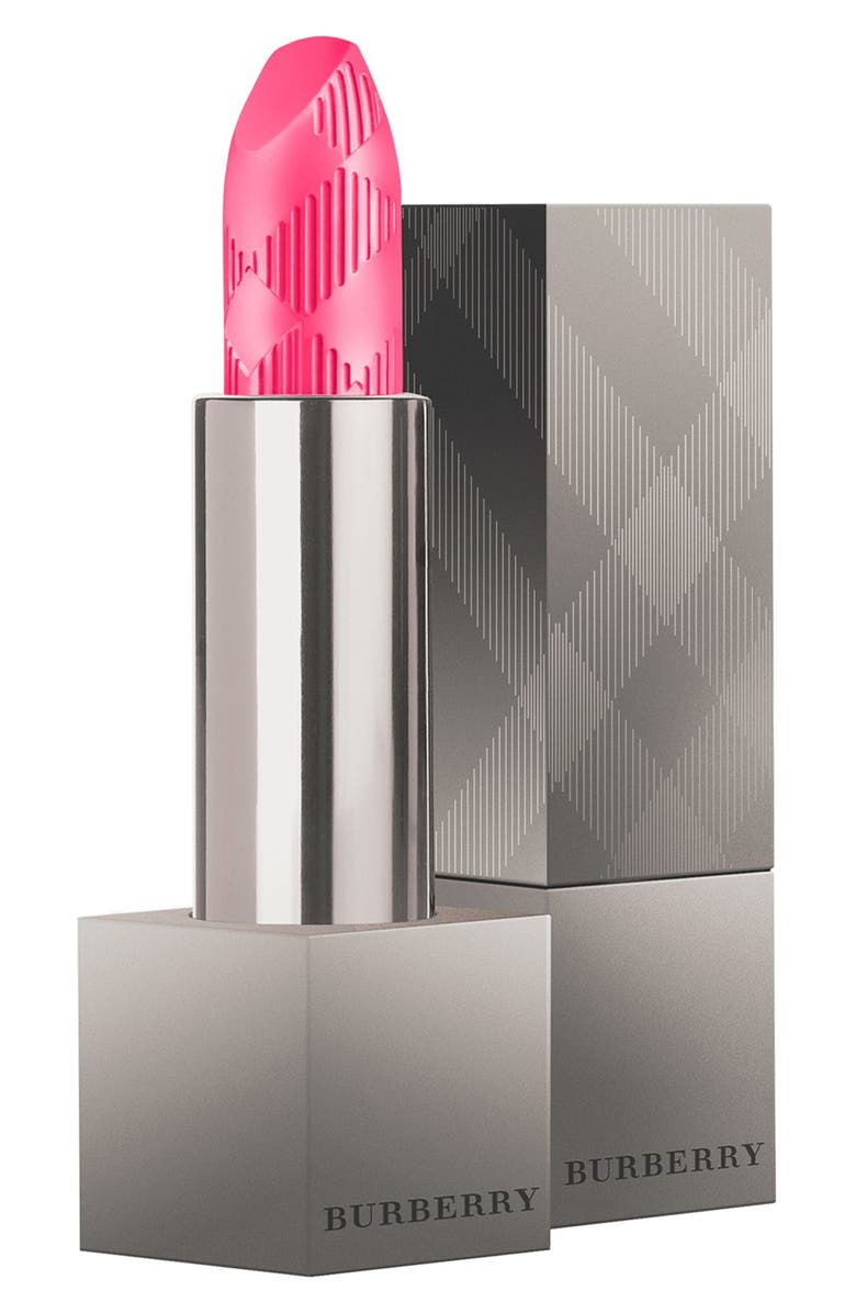 BURBERRY Beauty Lip Velvet Matte Lipstick, Main, color, NO. 418 FUSHIA PINK