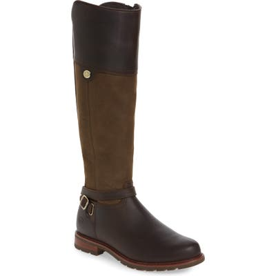 Ariat Carden Waterproof Knee High Boot, Brown