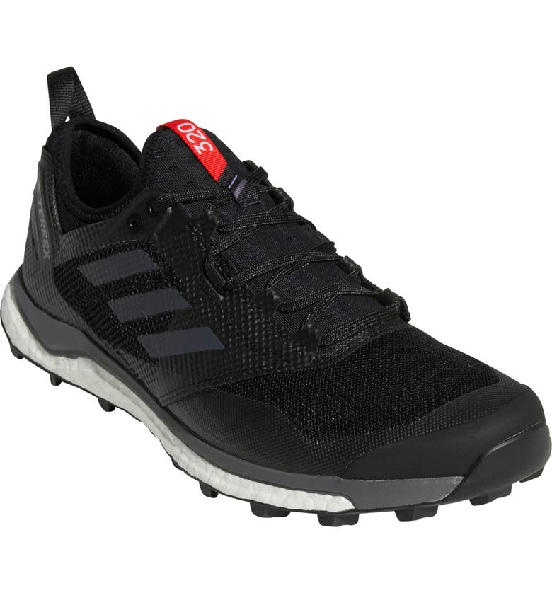 ADIDAS Terrex Agravic XT Trail Running Shoe, Main, color, BLACK/ GREY/ HI-RES RED