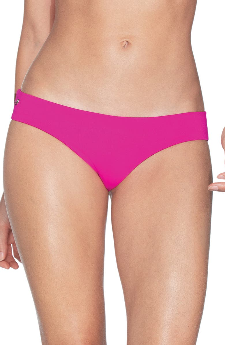 MAAJI Sublime Signature Cut Reversible Bikini Bottoms, Main, color, HIBISCUS PINK