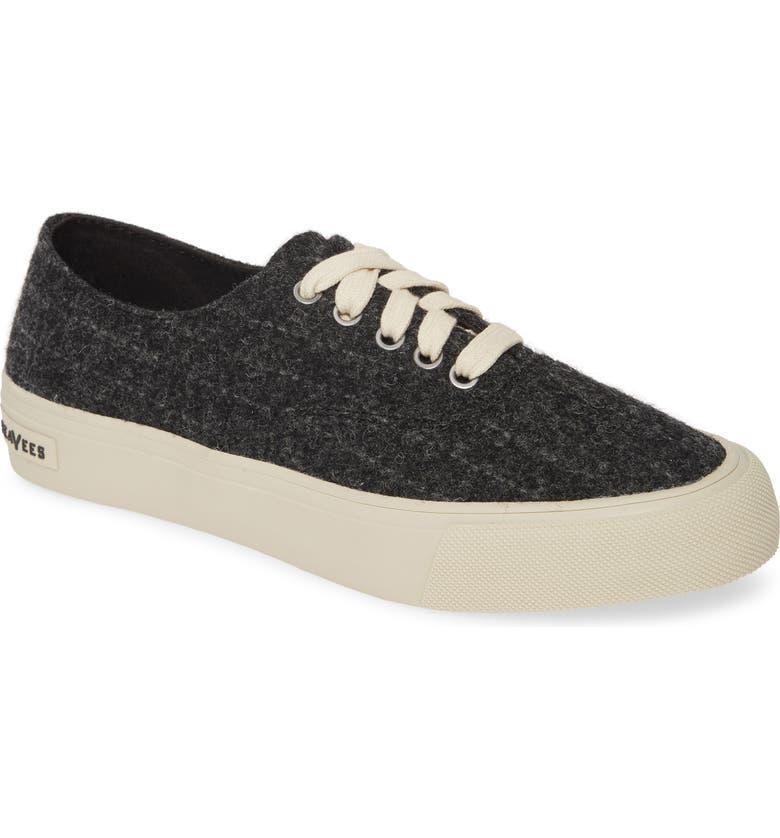 SEAVEES Legend Highlands Sneaker, Main, color, CHARCOAL SKINNY STRIPE WOOL