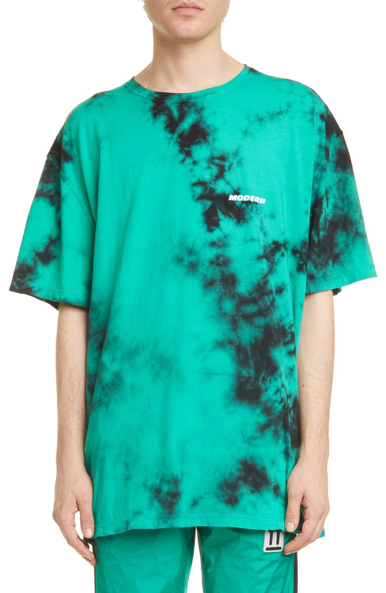 OFF-WHITE Tie Dye Tee, Main, color, MINT