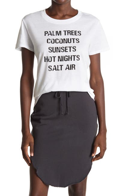 Image of Sub_Urban Riot Palm Trees Coconuts Graphic T-Shirt