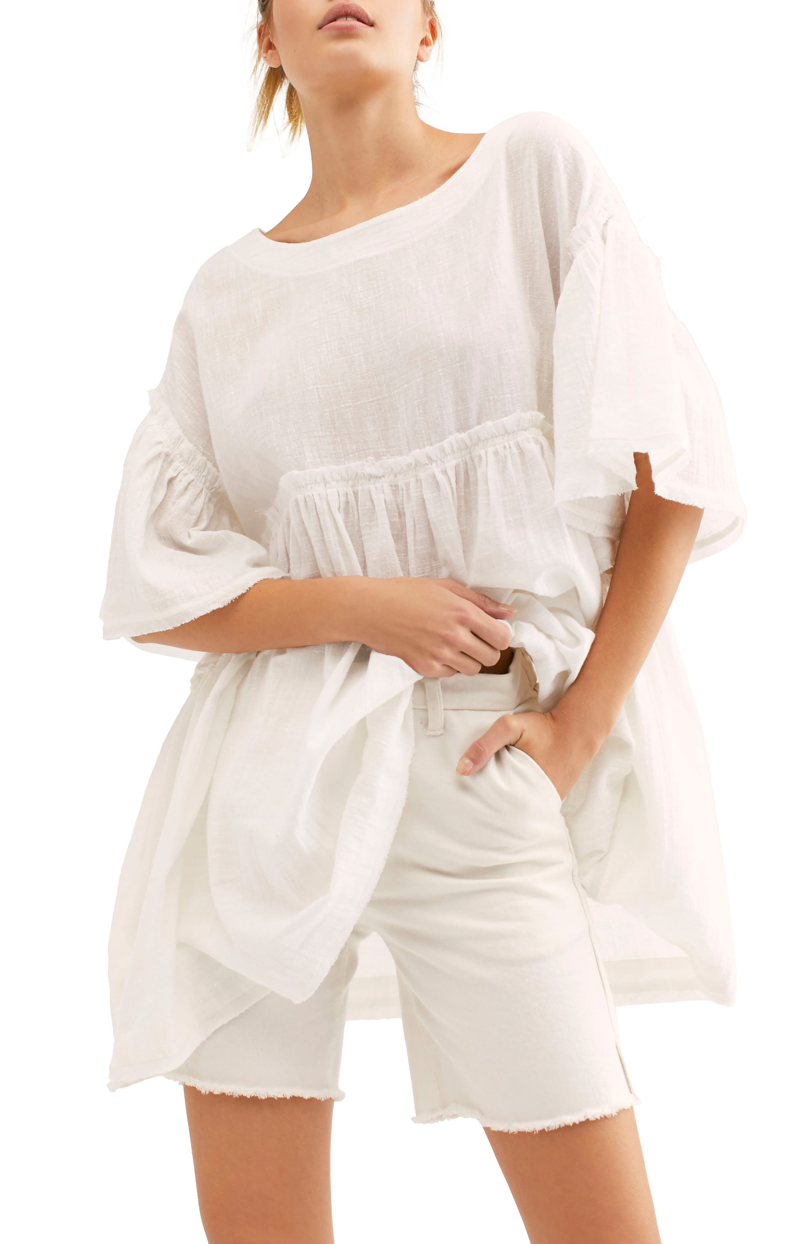 Summer Nights Top, Main, color, WHITE