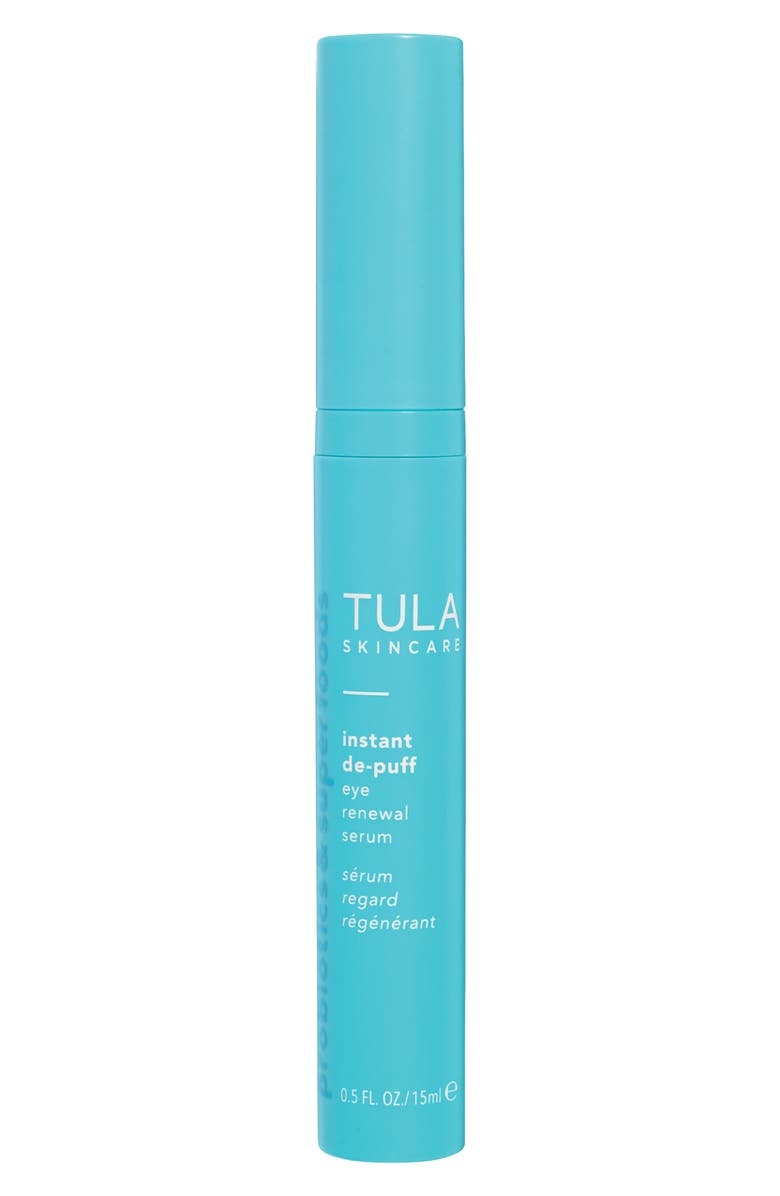 TULA SKINCARE Instant De-Puff Eye Renewal Serum, Main, color, NO COLOR