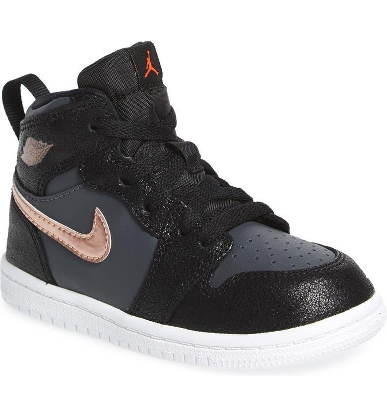 detailed look 1865a 0105a Nike  Jordan 1 Retro High  Sneaker, Main, color, ...