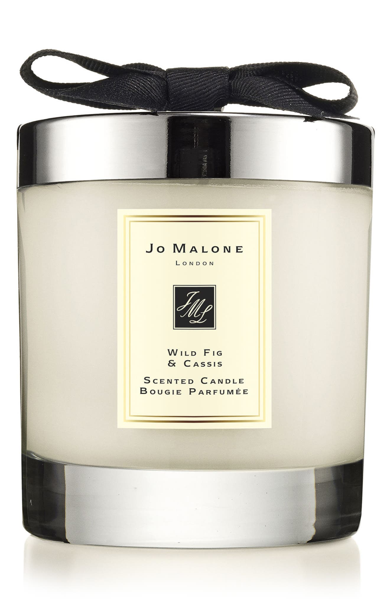 Jo Malone<sup>™</sup> Wild Fig & Cassis Scented Home Candle, Main, color, 000