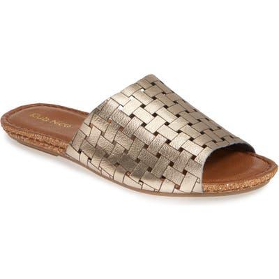 Klub Nico Gratzie Woven Slide Sandal, Grey