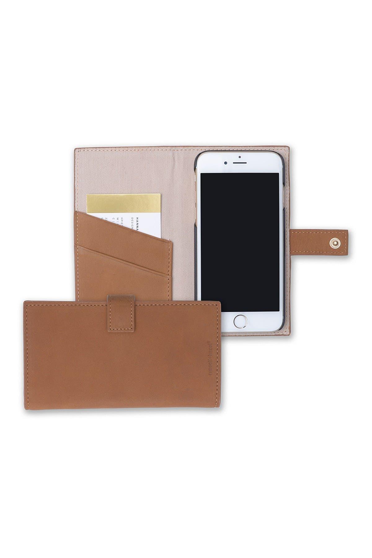Image of GARTNER STUDIOS R + H Leather Wallet Phone Case