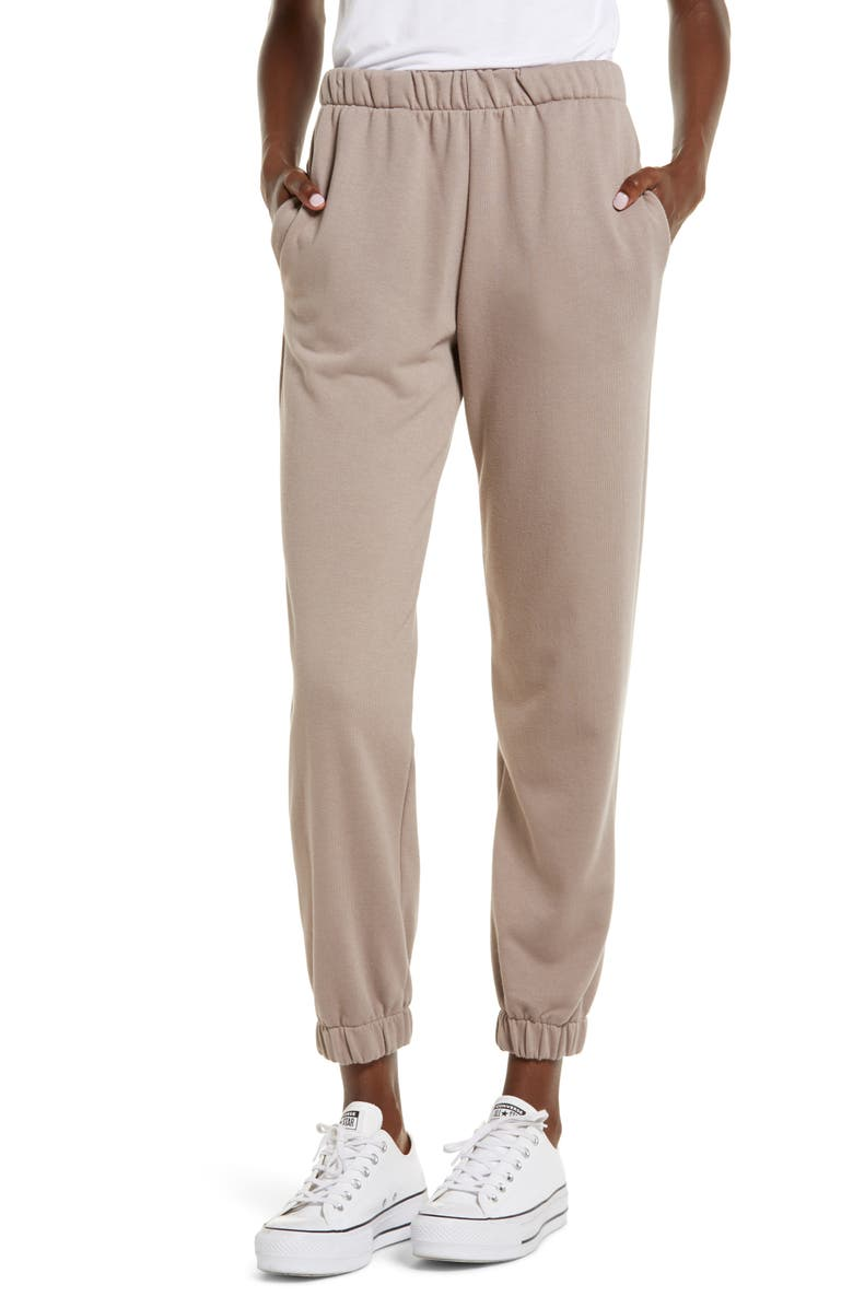 CIRCLEX Cozy Jogger Sweatpants, Main, color, MOCHA