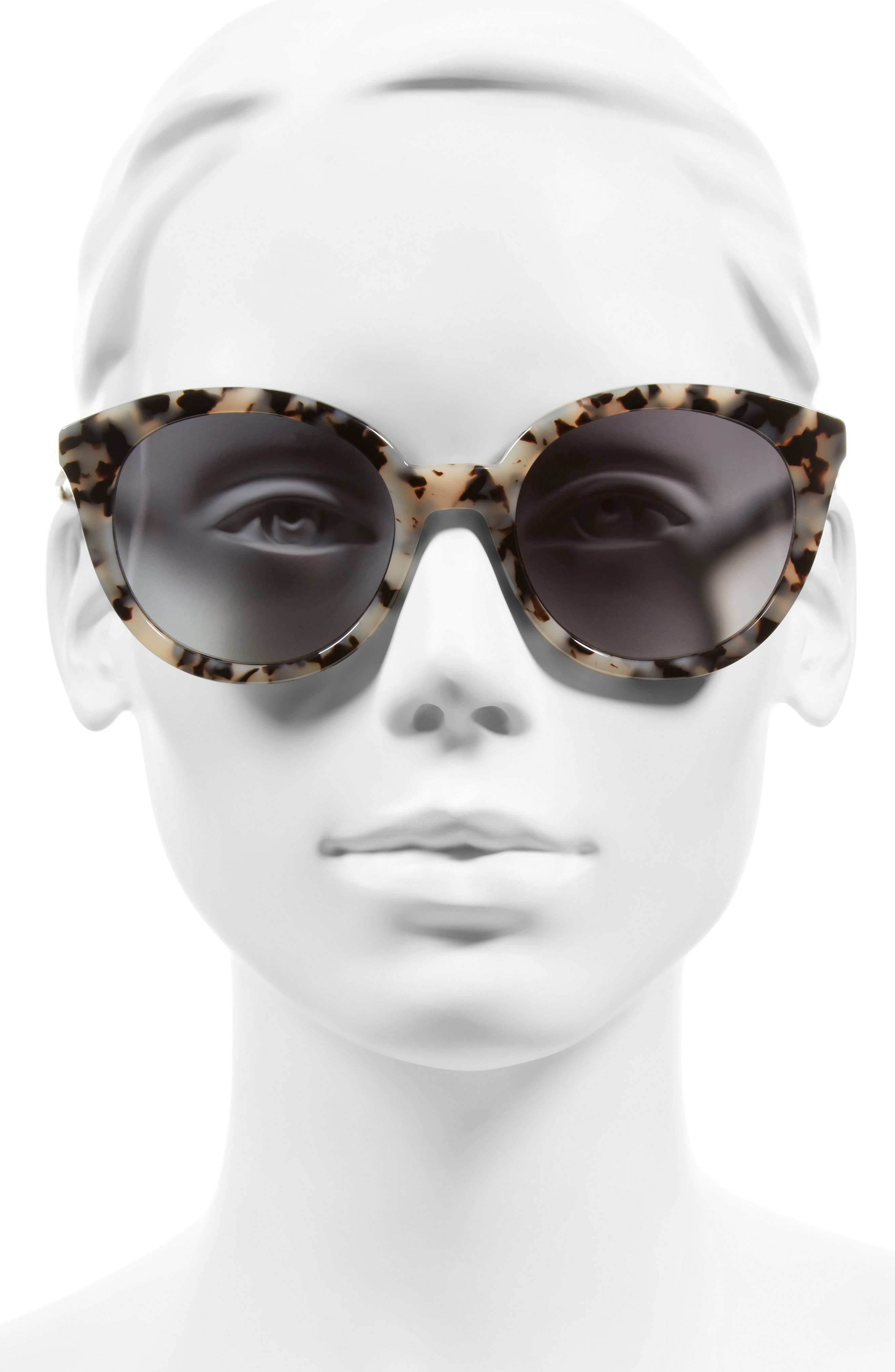 ,                             Holland 50mm Gradient Round Sunglasses,                             Alternate thumbnail 15, color,                             250
