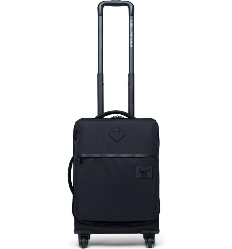 HERSCHEL SUPPLY CO. Highland 22-Inch Wheeled Carry-On, Main, color, BLACK