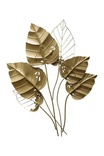 Stratton Home Gold Leaf Wall Decor Hautelook