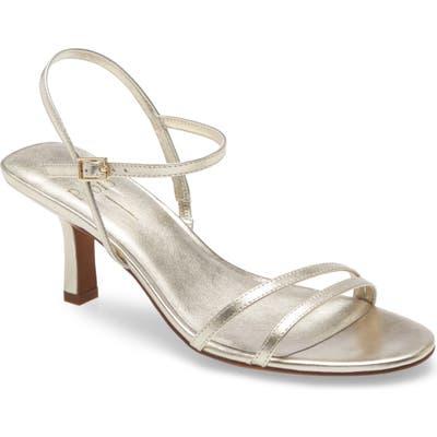 Linea Paolo Harmony Sandal- Metallic