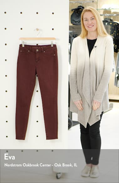 Heather High Waist Ankle Skinny Jeans, sales video thumbnail