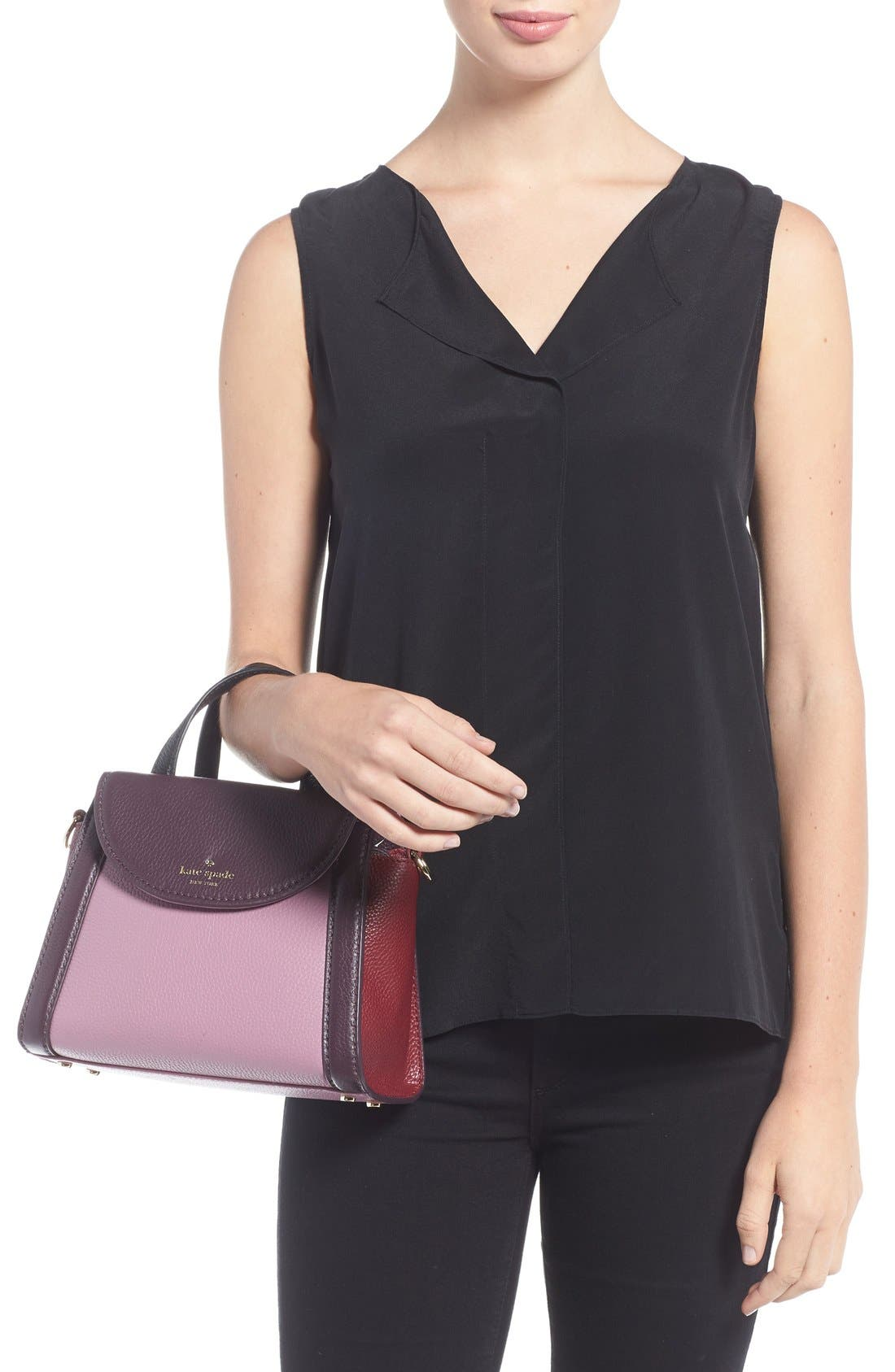 ,                             'cobble hill - small adrien' leather satchel,                             Alternate thumbnail 20, color,                             930