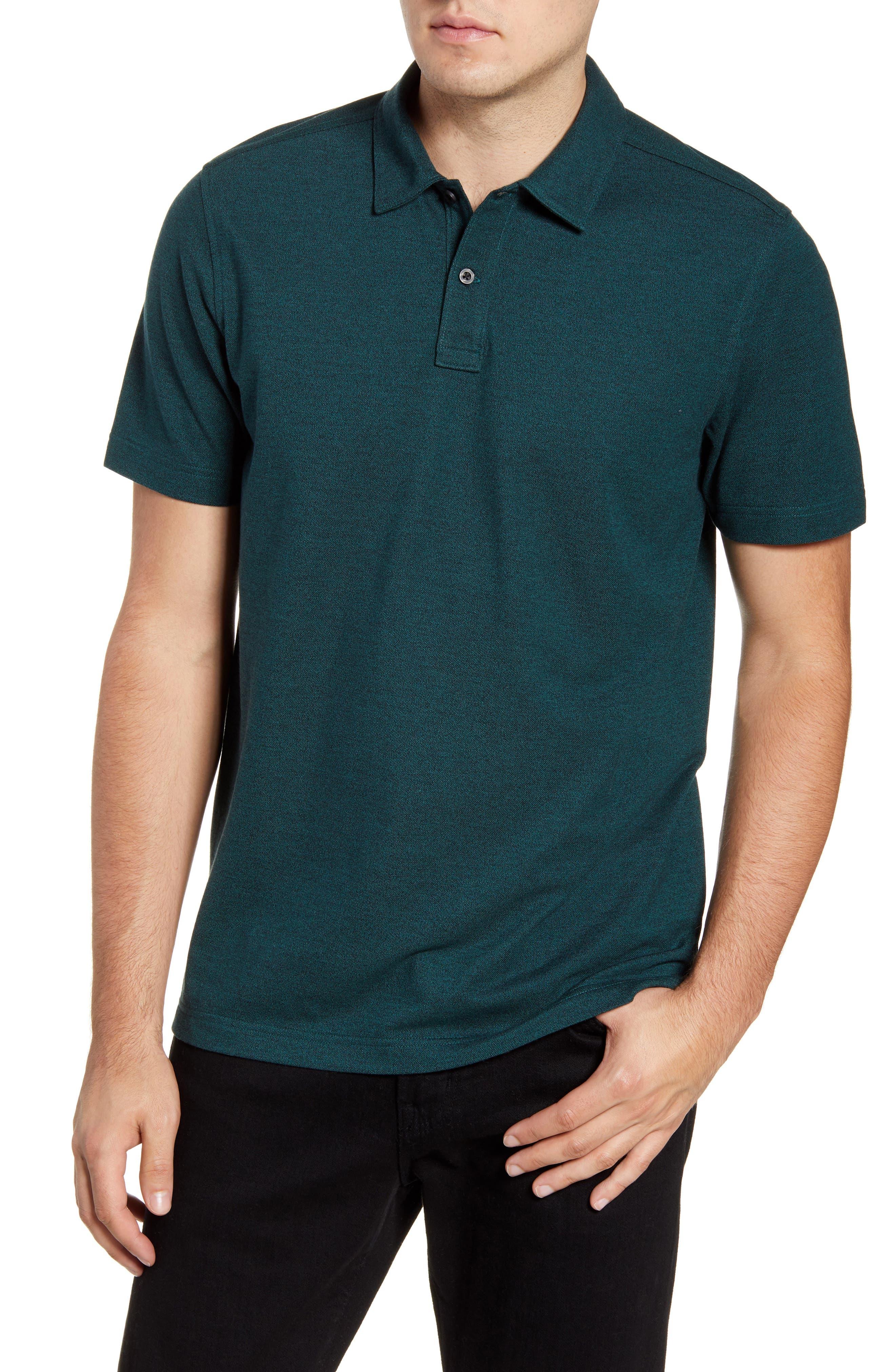 Nordstrom Shop Regular Fit Polo, Green