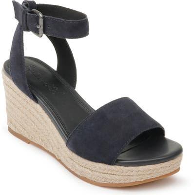 Splendid Arianna Espadrille Wedge Sandal, Blue