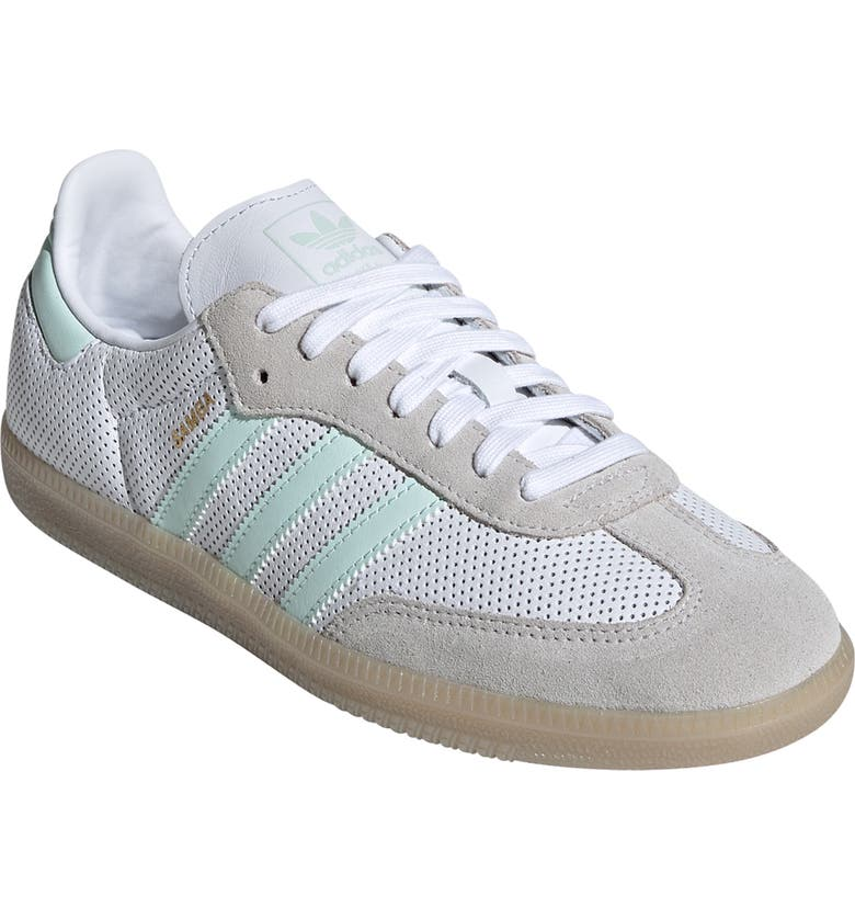 d058d8ee1 Samba Sneaker, Main, color, WHITE/ ICE MINT/ GREY ONE