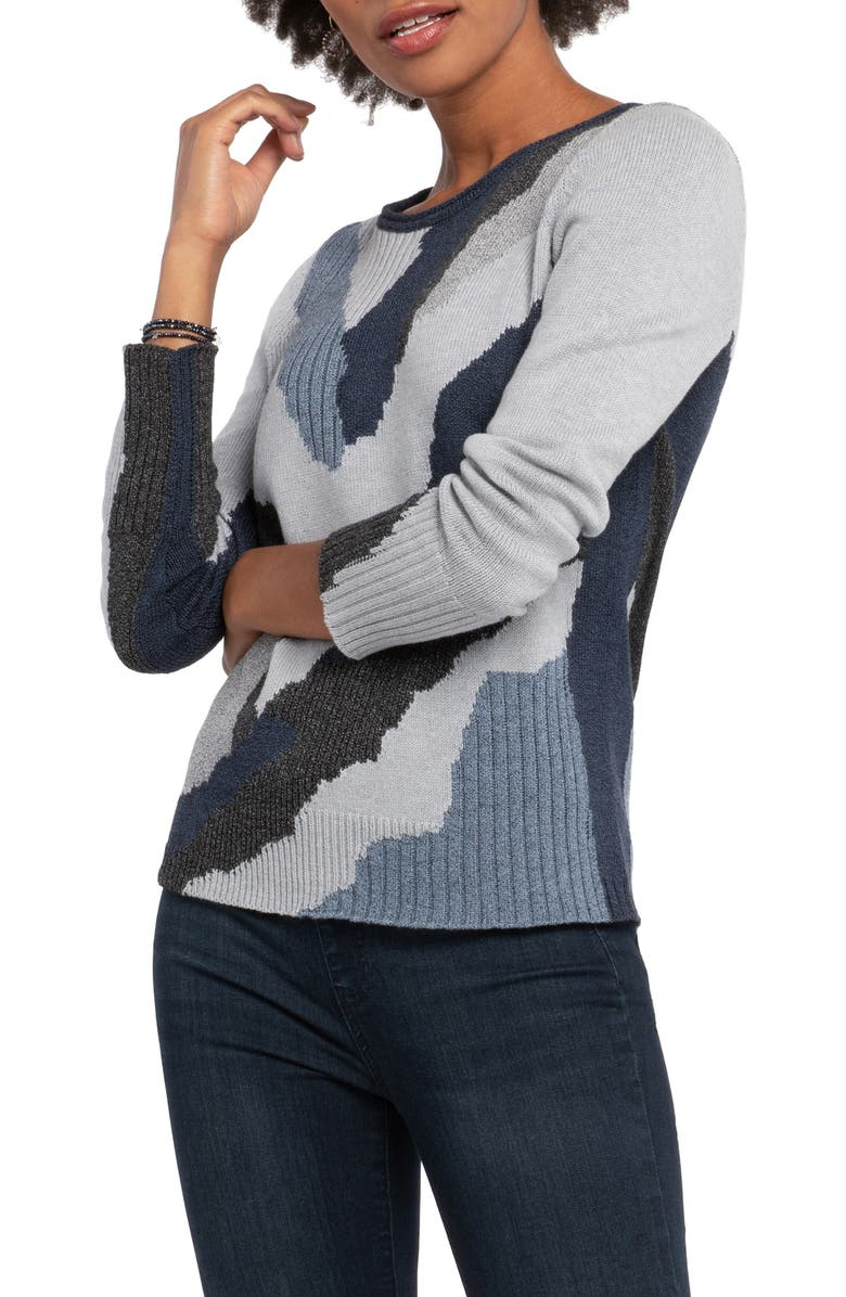 NIC+ZOE Park City Sweater, Main, color, 490