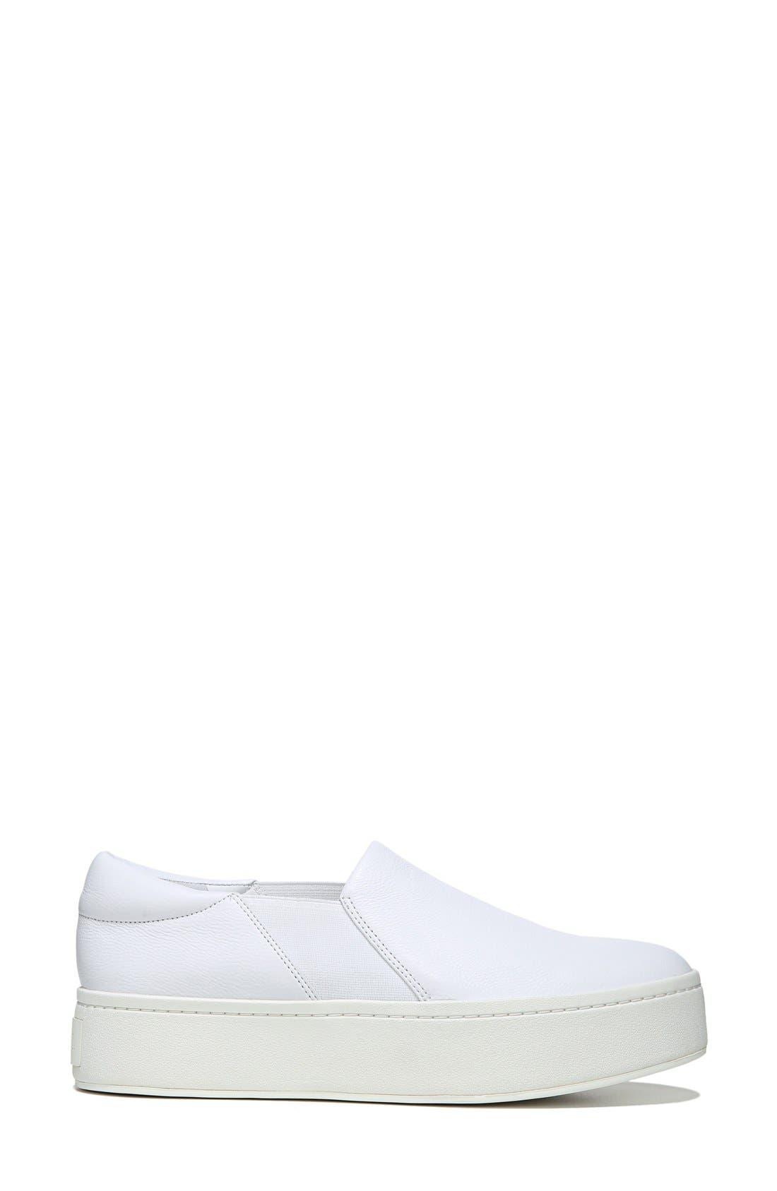 ,                             Warren Slip-On Sneaker,                             Alternate thumbnail 2, color,                             PLASTER LEATHER