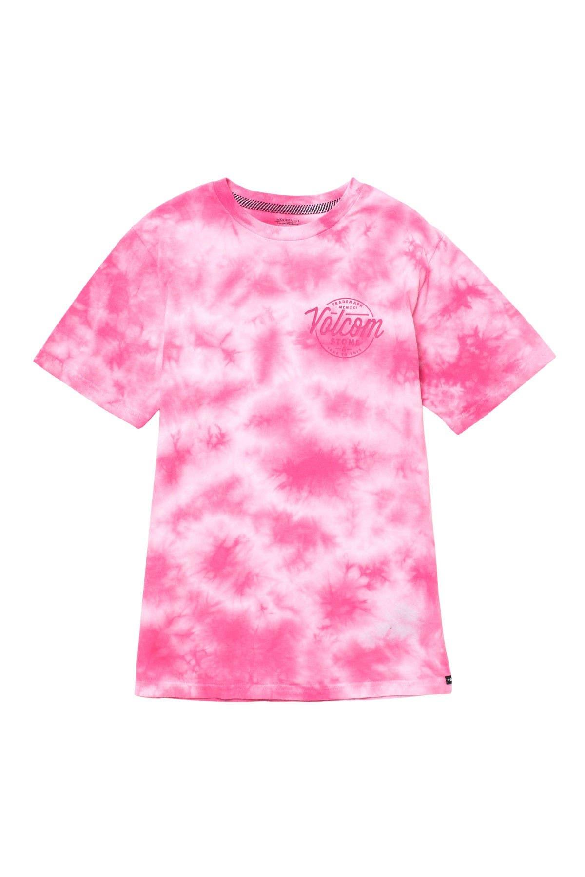 Image of Volcom Disestablish Crew Neck Tie-Dye T-Shirt