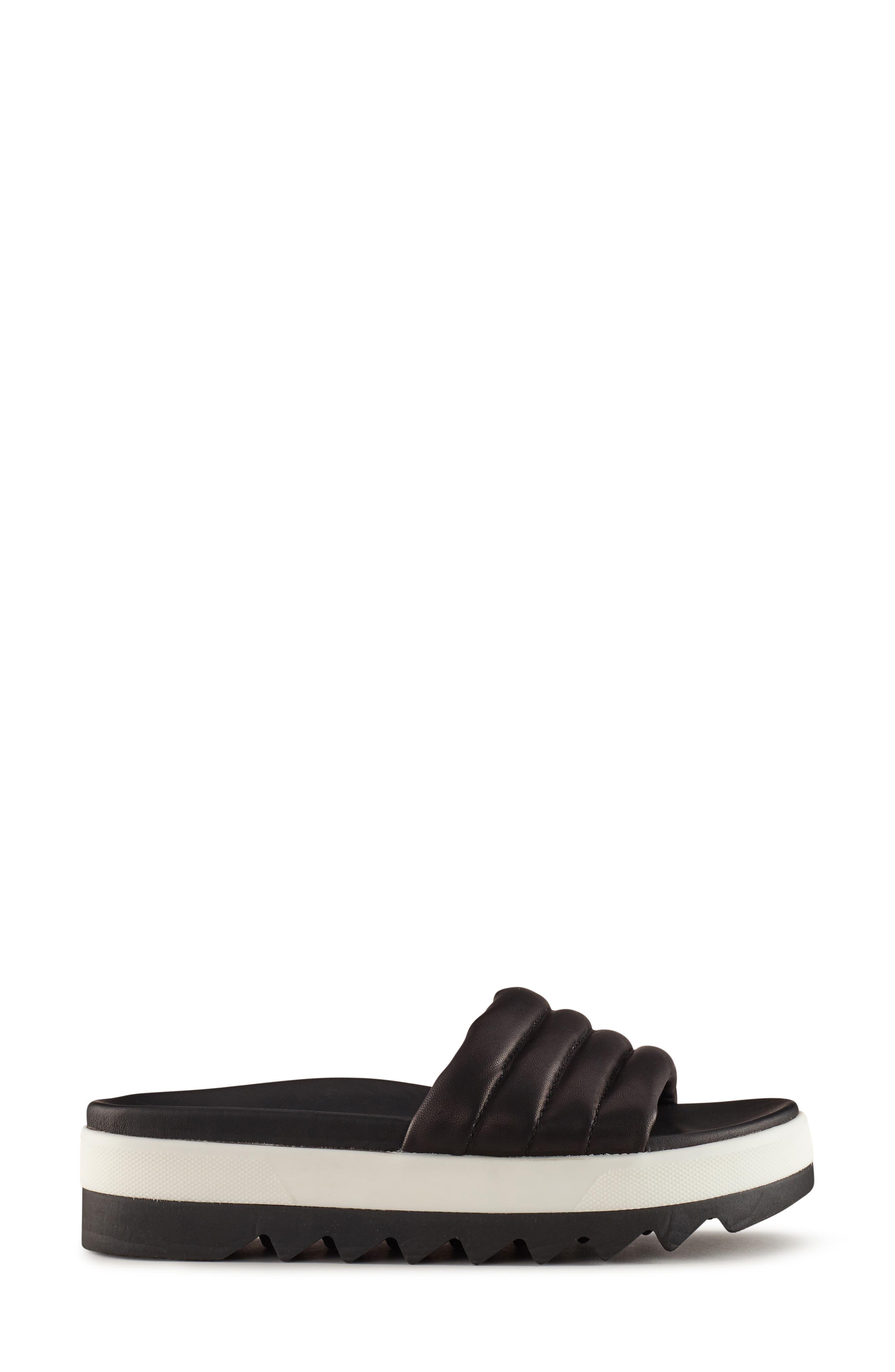 ,                             Prato Slide Sandal,                             Alternate thumbnail 2, color,                             BLACK LEATHER