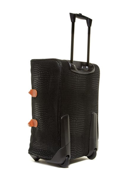 Bric's Luggage X-Travel Embossed Trolley (Black)